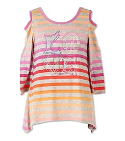 Speechless® Girls' 7-16 Love Cold Shoulder Top