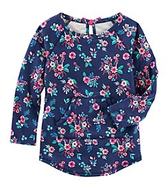 OshKosh B'Gosh® Girls' 2T-8 Floral Tunic