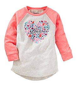 OshKosh B'Gosh® Girls' 2T-8 Love Raglan Tunic