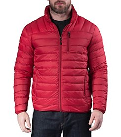 Hawke & Co. Men's Packable Down Jacket With Hidden Hood