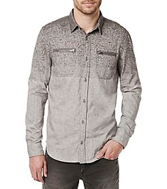 Buffalo by David Bitton Men's Gradient Long Sleeve Button Down Shirt