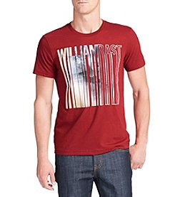 William Rast® Men's Short Sleeve Dripping Graphic Tee