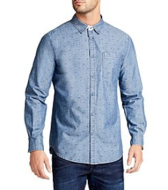William Rast® Men's Finley Long Sleeve Sleeve Printed Button Down Shirt