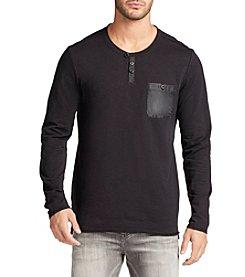 William Rast® Men's Lance Long Sleeve Henley