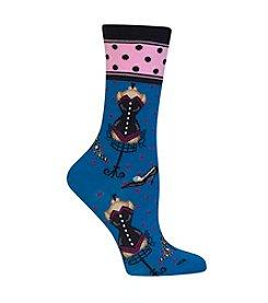 Hot Sox® Vintage Fashion Crew Socks