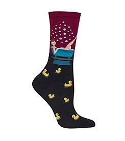 Hot Sox® Bathtime Crew Socks