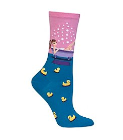 Hot Sox® Bathtime Crew Socks