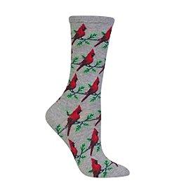 Hot Sox® Cardinals Crew Socks