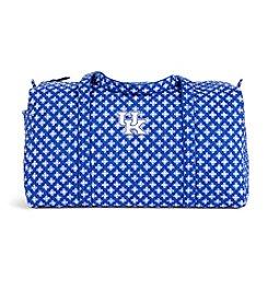Vera Bradley® NCAA® Kentucky Wildcats Duffel Bag