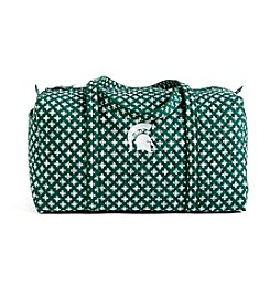 Vera Bradley® NCAA® Michigan State Spartans Large Duffel Travel Bag