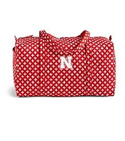 Vera Bradley® NCAA® Nebraska Corhuskers Duffel Bag