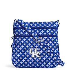 Vera Bradley® NCAA® Kentucky Wildcats Triple Zip Hipster