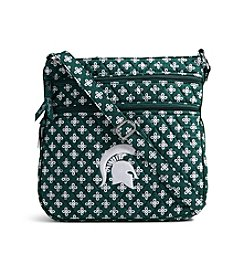 Vera Bradley® NCAA® Michigan State Spartans Triple Zip Hipster