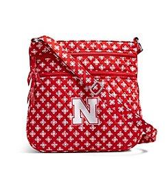 Vera Bradley® NCAA® Nebraska Cornhuskers Triple Zip Hipster
