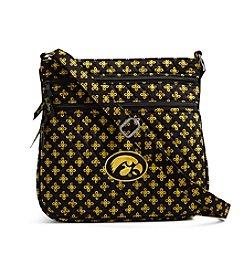 Vera Bradley® NCAA® Iowa Hawkeyes Triple Zip Hipster