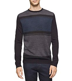 Calvin Klein Men's Merino Fancy Sweater