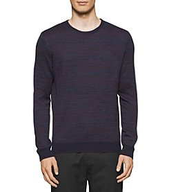 Calvin Klein Men's Merino Acrylic Space Sweater
