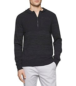 Calvin Klein Men's Cotton Modal Parallel Sweater