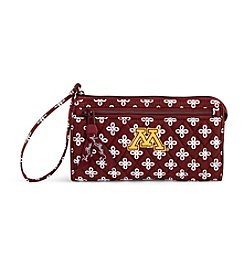 Vera Bradley® NCAA® Minnesota Golden Gophers Front Zip Wristlet