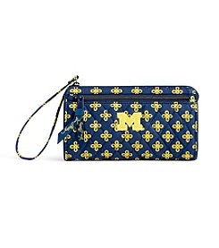 Vera Bradley® NCAA® Michigan Woverines Wristlet