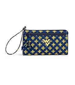 Vera Bradley® NCAA® West Virginia Mountaineers Front Zip Wristlet