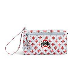 Vera Bradley® NCAA® Ohio State Buckeyes Front Zip Wristlet