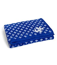 Vera Bradley® NCAA® Kentucky Wildcats XL Throw Blanket