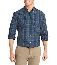 Izod® Men's Heritage Tartan Woven Long Sleeve Button Down Shirt