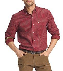 Izod® Men's Big & Tall Brodie Long Sleeve Button Down Shirt