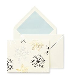 kate spade new york® Holiday Card Snowflake Set