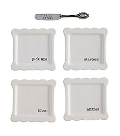 Mud Pie® Circa Tidbit Plate Set