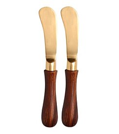 Thirstystone® Set Of Two Goldtone Spreaders