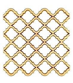 Thirstystone® Goldtone Pattern Trivet