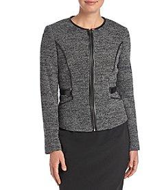 Kasper® Front Zipper Jacket
