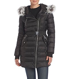 French Connection Belted Down Jacket