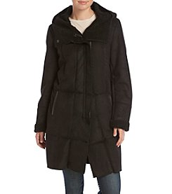 DKNY® Faux Shearling Down Jacket