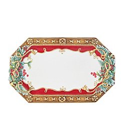 Fitz and Floyd® Yuletide Holiday Elongated Tray