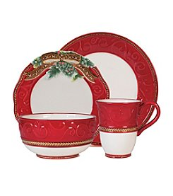 Fitz and Floyd® 4-pc. Yuletide Holiday Place Setting