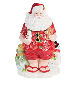 Fitz and Floyd® Coastal Claus Cookie Jar
