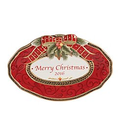 Fitz and Floyd® Damask Holiday Collector Plate Dated