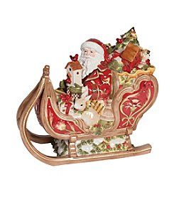 Fitz and Floyd® Damask Holiday Cookie Jar