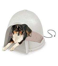 K&H Pet Products Lectro-Soft™ Igloo Style Outdoor Heated Bed
