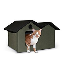 K&H Pet Products Extra Wide Outdoor Kitty House