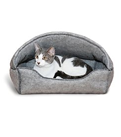K&H Pet Products Amazin' Kitty™ Lounger Hooded