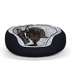 K&H Pet Products Round N' Plush Bolster Bed