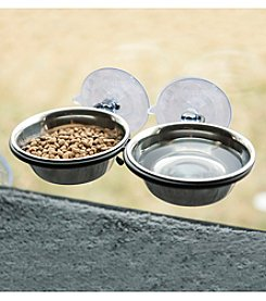 K&H Pet Products Mount Up & Away Kitty Double Diner