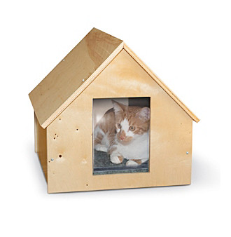 K & H Pet Products Birchwood Manor Kitty Home