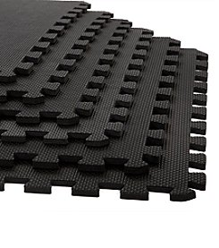 Stalwart 6-Pack Interlocking EVA Foam Floor Mats