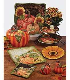 Certified International Botanical Harvest by Susan Winget Dinnerware Collection