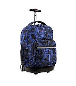 J World® Sunrise Disco Rolling Backpack